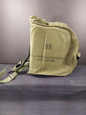 $16.99 • Buy US Military Field Protective Gas Mask Canvas M17A1 Carrier Vietnam Era