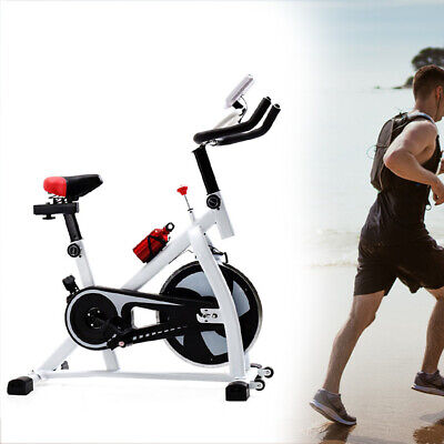Spin Exercise Bike Home Cardio Spinning Flywheel Fitness Training Indoor Machine • 115£