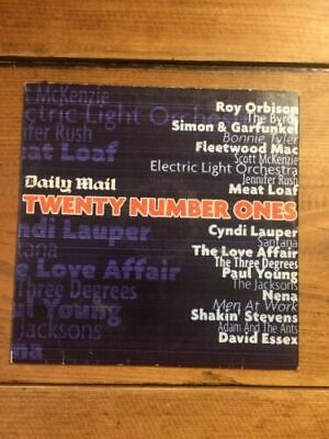 Twenty Number Ones - Daily Mail Promo Cd • 2£