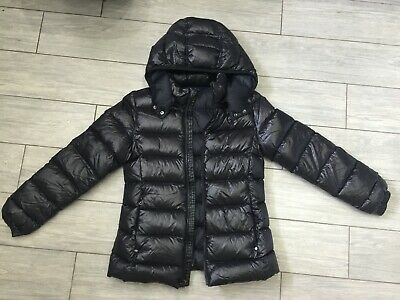 GIRLS GENUINE BLACK Ralph Lauren POLO DOWN FEATHER PUFFER COAT, AGE 12-14 YEARS • 40£