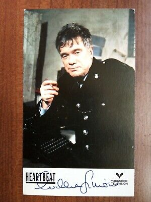 WILLIAM SIMONS *Alf Ventress* HEARTBEAT PRE-SIGNED CAST CARD AUTOGRAPH • 7.99£