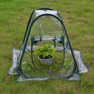 Mini PopUp Garden Plants Flowers Cover Tent PVC Greenhouse Cloche Propagator • 17.98£