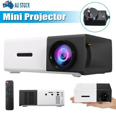 AU60.99 • Buy Portable Mini Popular Projector YG300 HD LED AV USB HDMI Home Theater Cinema