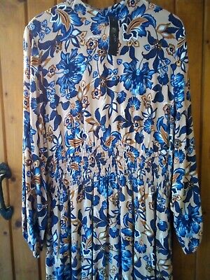 Holly Willoughby M&S Floral Maxi / Midi Dress Size 20 BNWT • 5£
