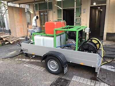 Trailer Mounted Hot Pressure Washer • 10,500£