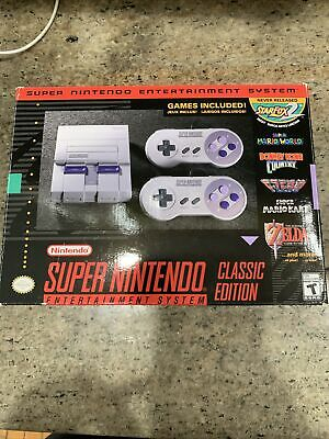 $ CDN112.32 • Buy Nintendo SNES CLV S SNSG Classic Edition Mini Super Entertainment System