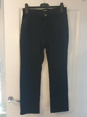 Per Una Straight Leg Jeans Size 14 Short With Sequin Details • 1.99£