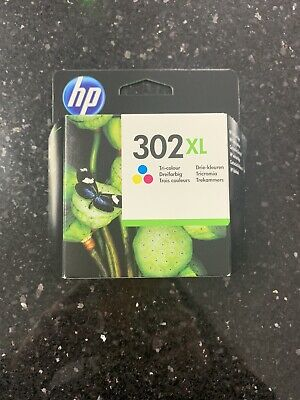 HP 302XL F6U67AE High Yield Tri-color Original Ink Cartridge • 17£