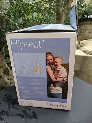 Hippychick Hipseat 6 Months-3 Years Infant Carrier New In Box Never Opened Black • 18£