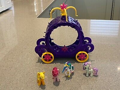 My Little Pony Carriage And Pony Figures • 2.50£