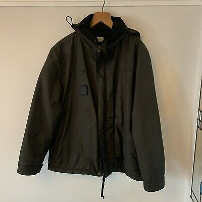 Vintage CP Company Urban Torch Light Mil Green 50  L/XL Made In Italy A/W 00 • 295£