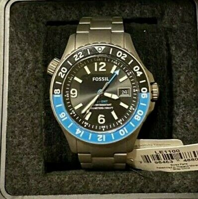 $ CDN227.21 • Buy Fossil Men's Limited Edition FB-GMT Dual Time Titanium Watch LE1100