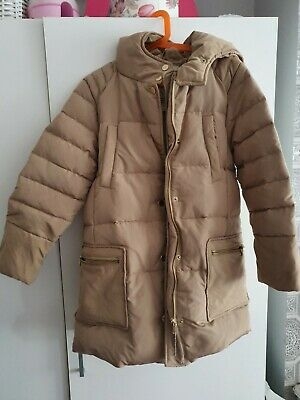 Zara Girls Winter Jacket Coat 9/10 Feather Down New • 10£