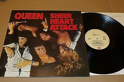 Sheer Heart Attack  -   Queen   -   Uk Emi Records  -   Reissue. • 3.20£