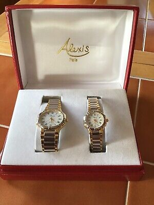 Alexis Paris His And Hers Watches • 19.99£