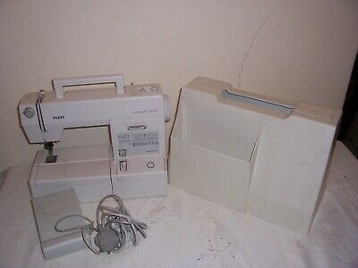 Pfaff Varimatic 6091 Stretch & Jeans Sewing Machine With Pedal Case 99p No Res • 32£