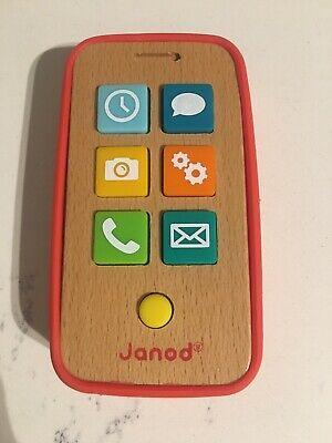 Janod Wooden Phone • 5£