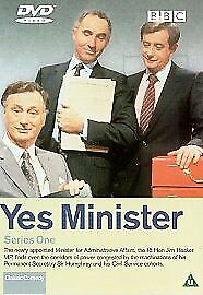 Yes Minister - Series 1 (DVD, 2001) SEALED • 2.63£