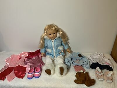 Smoby Rosie Doll With 5 Outfits • 32£