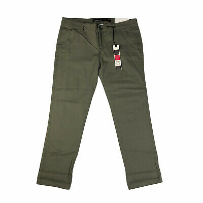 $17.60 • Buy Freestyle Revolution Olive Green Skinny Stretch Trouser Pants NWT Size 13