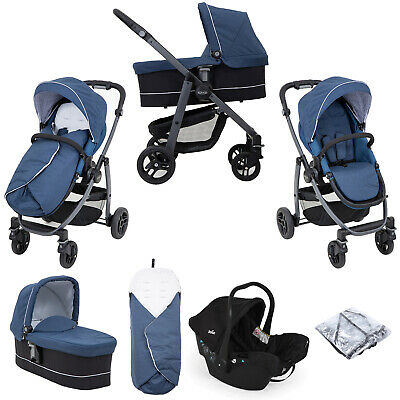 Graco Evo Avant Pushchair Stroller With Carrycot - Ink • 267.99£