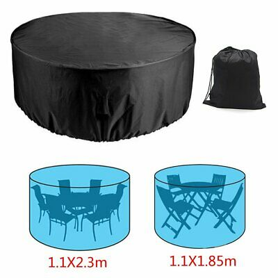 AU22.99 • Buy Large Round Waterproof Outdoor Garden Patio Table Chair Set Furniture Cover AU