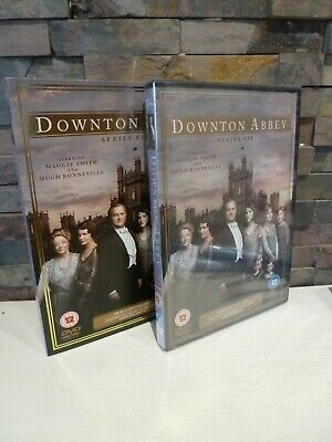 New/sealed DOWNTON ABBEY : SERIES 6 SIXTH DVD UK. FAST/FREE POST • 8.95£