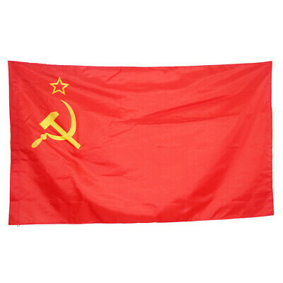 USSR Soviet Union Communist Russian Russia-Socialists Red National Flags #HF0 • 5.49£