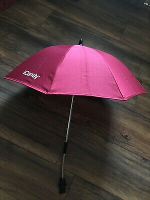 ICANDY PEACH PARASOL SUN UMBRELLA WITHOUT Clamp Cherry • 19.99£