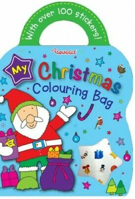 £3.09 • Buy Childrens Christmas Colouring Sticker Activity Book Over 100 Stickers Bag Shape
