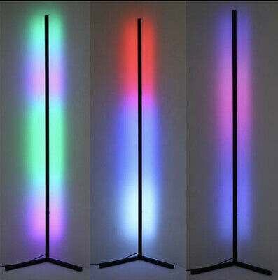 Minimal Modern Led Corner Lamp Rgb With Touch Remote  • 95£