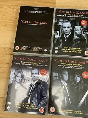 Wire In The Blood Dvds Series 1-5 • 5£