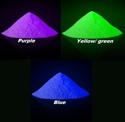 £7.99 • Buy High Quality Glow In The Dark Pigment Powder For Paint,Nail,Art,Crafts, Acrylic