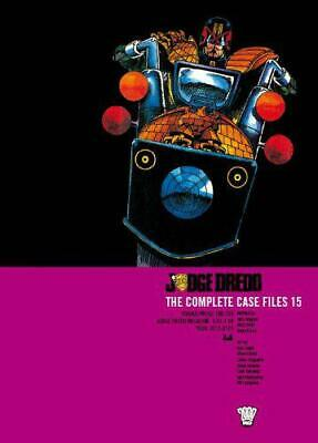 Judge Dredd: Complete Case Files V. 15 By John Wagner, Garth Ennis, NEW Book, FR • 15.82£