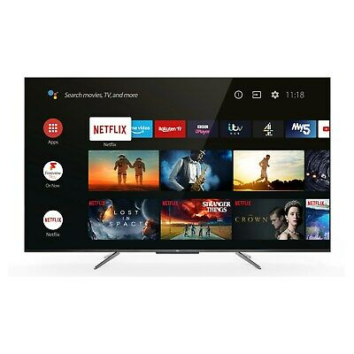 $ CDN752.29 • Buy Refurbished TCL 55  4K Ultra HD With HDR10+ QLED Freeview Play Smart TV