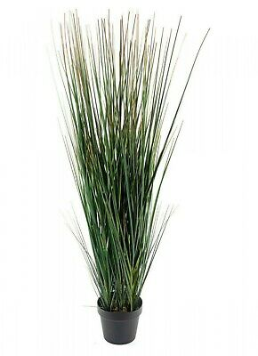 £41.89 • Buy Artificial Onion Grass In Pot Realistic Foliage Tall Fake Plant 110cm Height UK