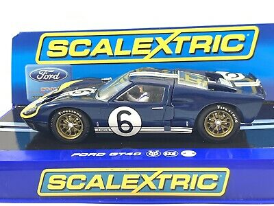 Scalextric C3097 Ford GT40 MK 11 1966 Andretti/ Bianchi No 6 Boxed • 34£