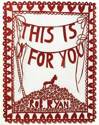 This Is For You By Rob Ryan (Hardback) • 1.60£