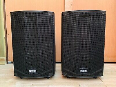 FBT ProMaxx 114a 14  1800W Active Bar Club DJ PA Speakers (Pair) With Covers • 1,150£