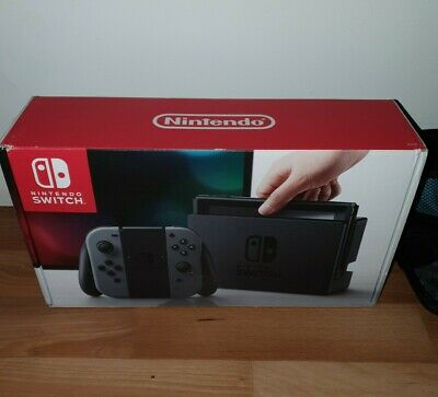 AU325 • Buy Nintendo Switch Grey Console With Accessories