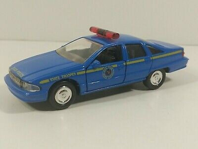 £9.20 • Buy Road Champs New York Police Chevrolet Caprice Car Blue 1:43 Diecast - No Box