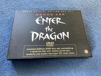 £250 • Buy Bruce Lee Enter The Dragon Limited Edition Dvd Box Set
