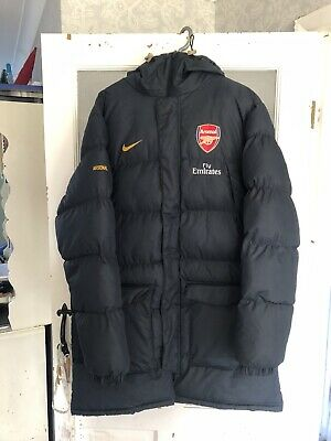 Arsenal Nike Mid Length Puffer Jacket Size Large • 79.99£