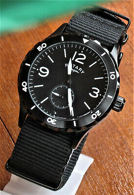 Rotary Flieger / Pilot Style Quartz Watch • 14.99£