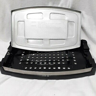 $35 • Buy Wolfgang Puck Indoor Reversible Electric Grill Griddle Drip Pan Tray Base PARTS