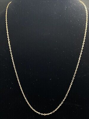 £97.81 • Buy 14k Yellow Gold Chain Snake Thin Color Jewelry Versace Thin Durable 17  8.5  WOW