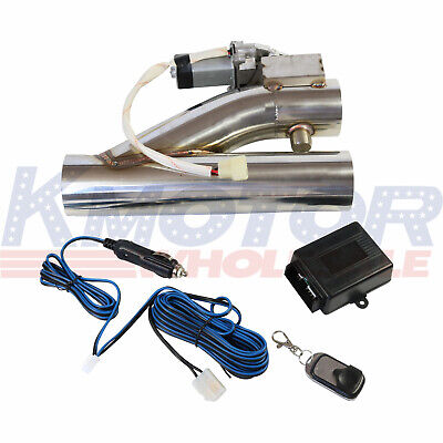 $76.97 • Buy Controller Remote Kit 3 Electric Exhaust Downpipe Cutout E-Cut Out Valve