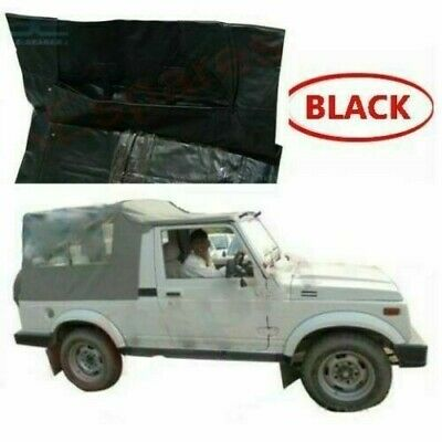 AU280 • Buy Soft Top Roof Long Body Black Suzuki SJ410 SJ413 Samurai Maruti Gypsy King