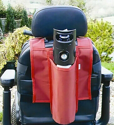 Mobility Scooter / Powerchair Oxygen Bottle Seat Holder Bag (NHS 14  Long Type) • 29.95£