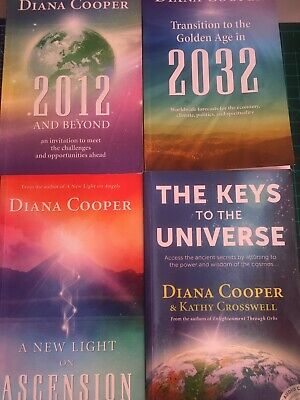Diana Cooper 4 Book Bundle (Findhorn Press) Great Condition!! • 9.99£